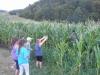 Otroci najdejo razbojnika Guzaja sredi koruze
