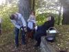 Grajski park na Gradu Planina - Guzaj podkuje Klančarico