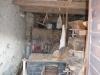 Notranjost Lapršekovega mlina - stari mlinski kamni