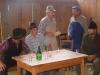 Guzaj v Amonovem mlinu - v družbi Barbkinega očeta in okoliških kmetov