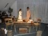 Amonova Barbka s svojim očetom - izkušenim mlinarjem, ki ji daje nasvete