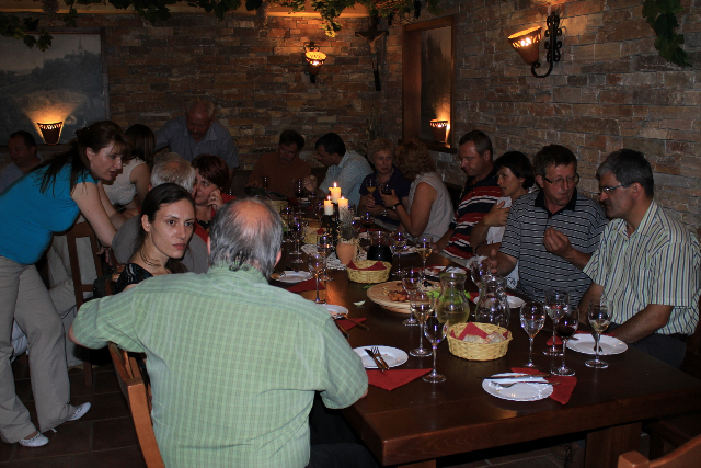 Feast following the roundtable about the Outlaw Guzaj in Prevorje