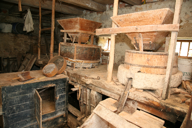 Inside the Lapršek mill
