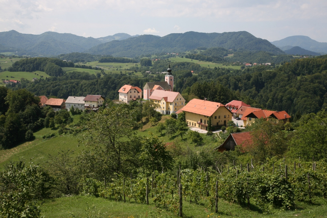 Panorama of Dobje