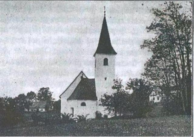 Guzaj´s birth house near the Church of St. Primož